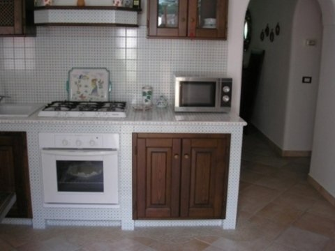 Cucina piastrellata