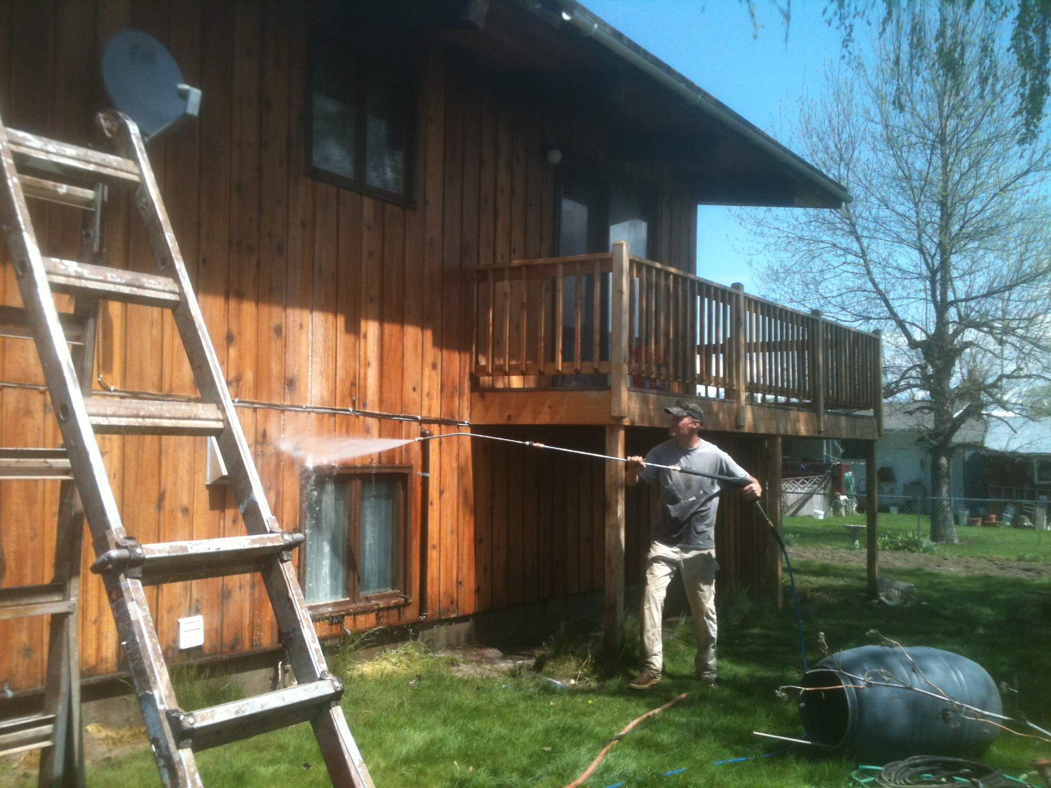 Wood restoration and painting services in Whitefish, MT and The Flathead Valley