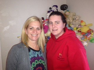 Lucy Wilson, Managing Director, with Carrie Beeston, Nursery Manager