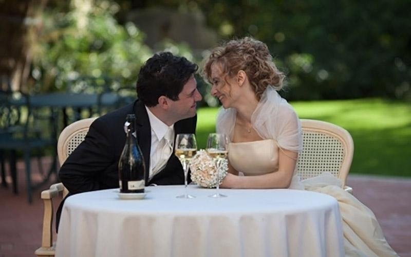 Foto professionali pranzo di matrimonio