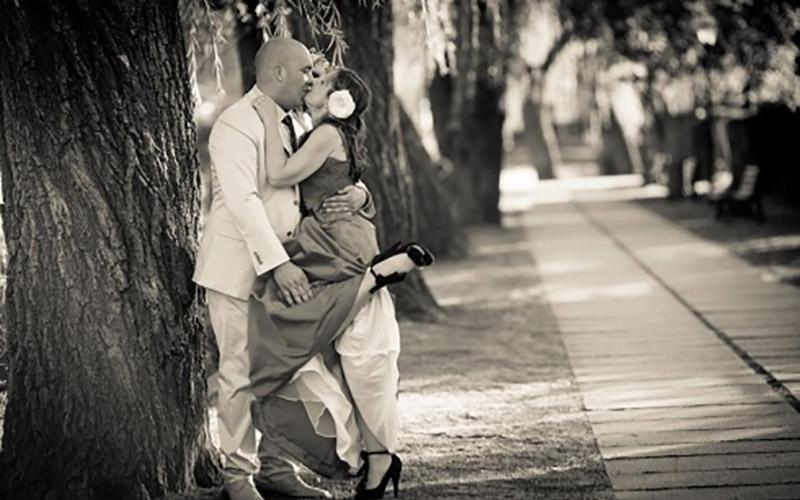 Foto romantiche sposi