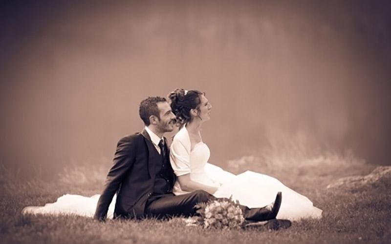 Scatti fotografici durante il matrimonio