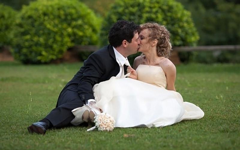 Album fotografico sposa e sposo