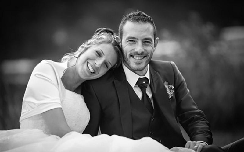 Foto professionali coppia durante nozze