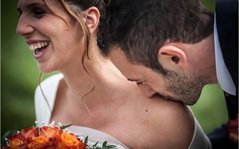 Scatti fotografici sposi