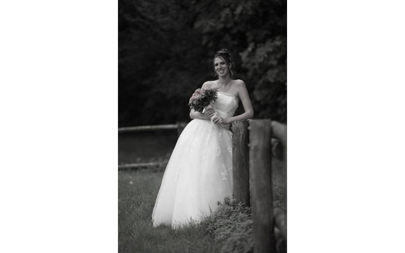 Fotografie sposa con bouquet