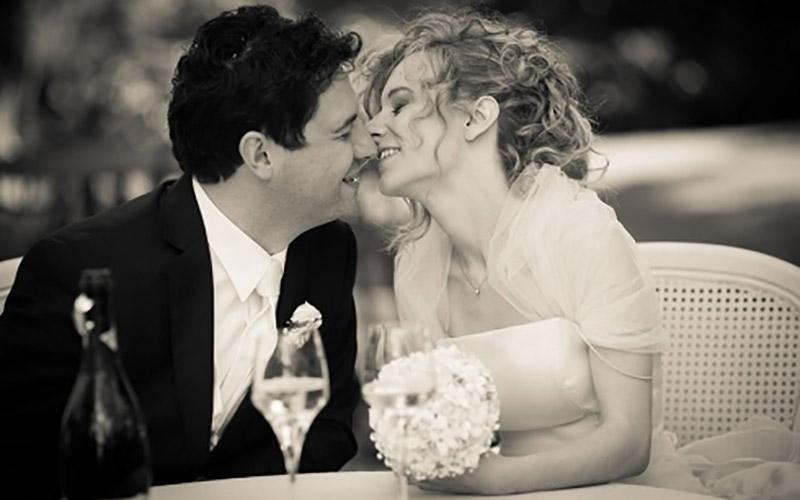 Foto sposo e sposa