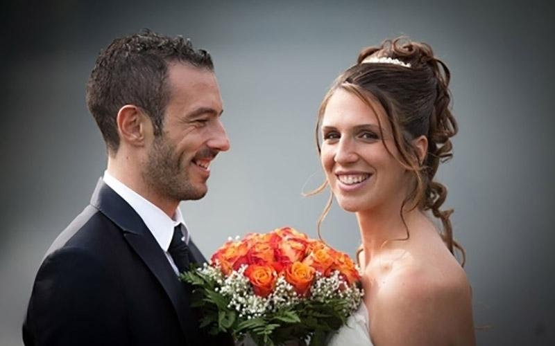 Foto con bouquet