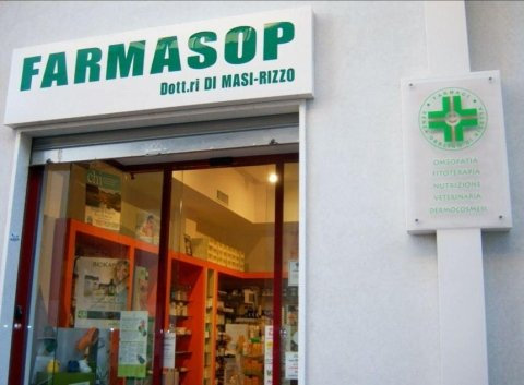 entrata farmacia FARMASOP