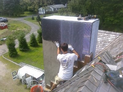 Chimney repairs and cleaning