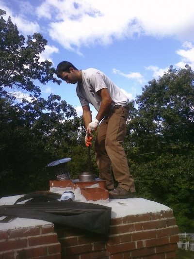 Chimney repairs, cleaning in Thomaston