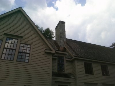 Chimney repairs, repainting and waterproofing
