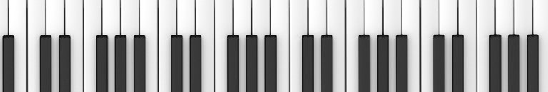 black and white keys on piano