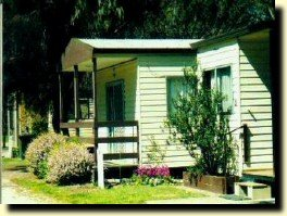 Cabin facilities at Koondrook Caravan Park