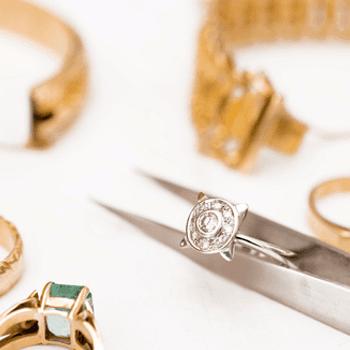 anello, oro, pinza, laboratorio orafo