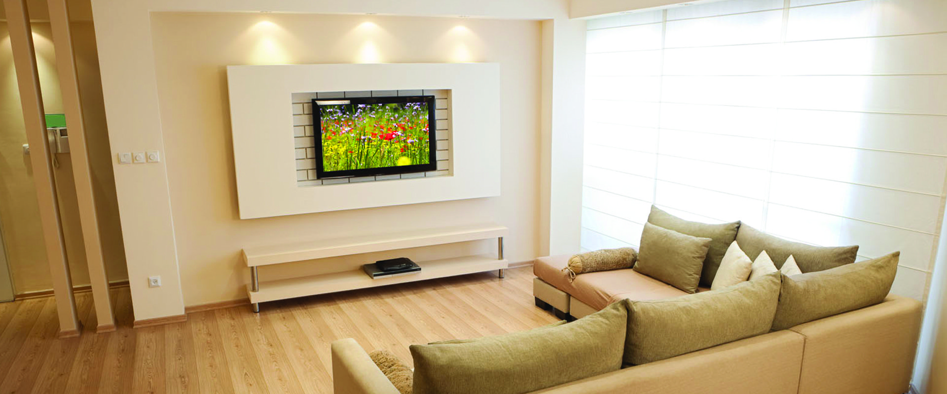 TV in hall