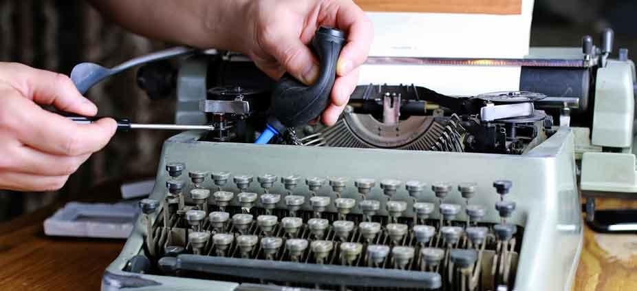 Typewriter Repair Service