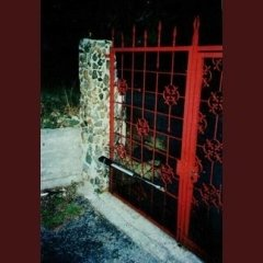 Cancello dotato di automazione