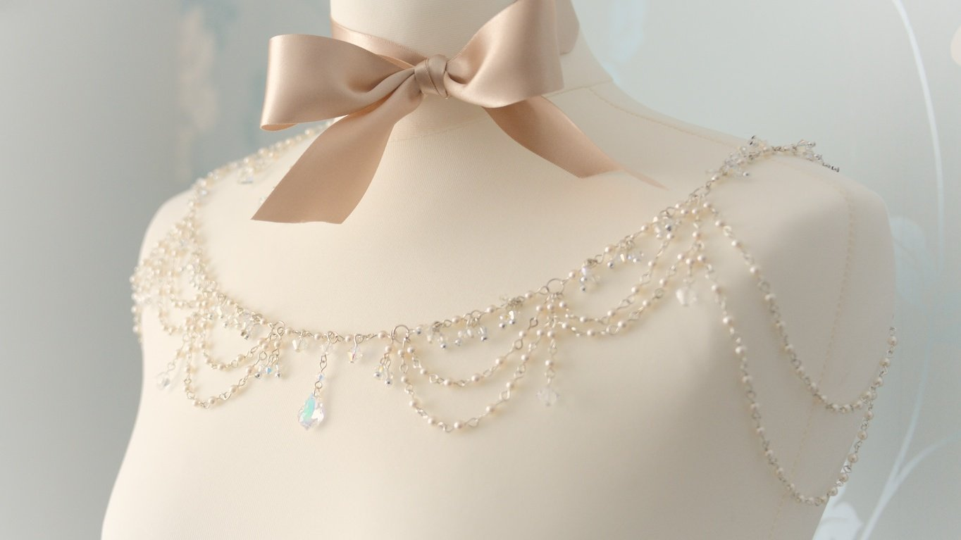 Swarovski Crystal and Cultured Pearl 4 piece Set