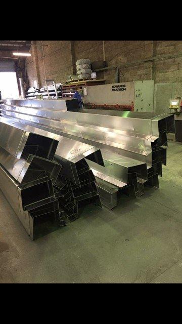 Aluminium 2mm Industrial Guttering