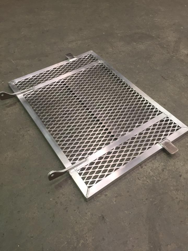 Aluminium Hinged Guard