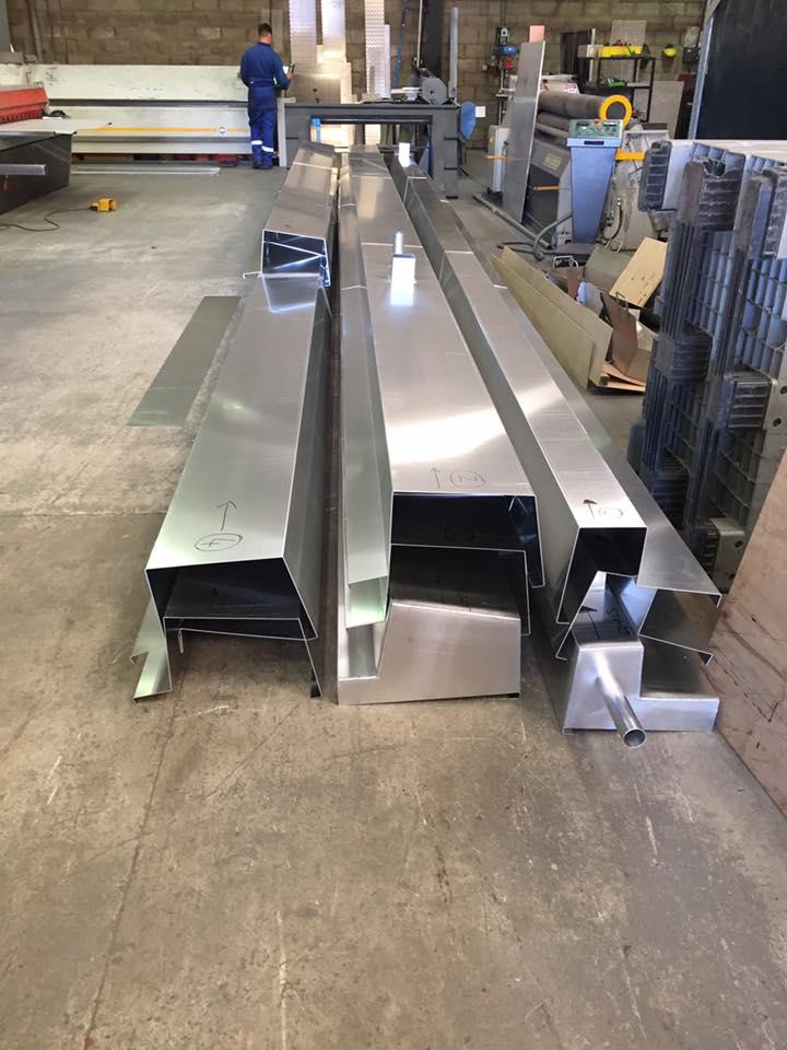 2mm Aluminium Guttering