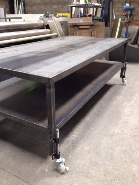 Movable Mild Steel Work Benches