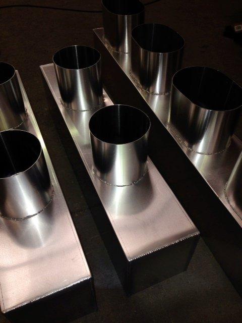 Aluminium Spigot Boxes