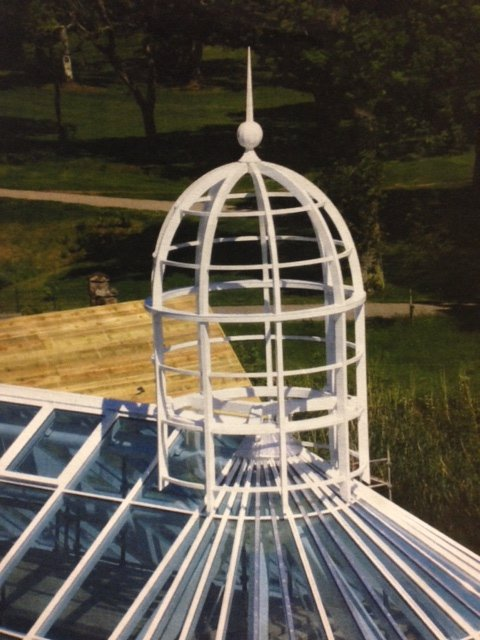 Aluminium Feature Bird Cage