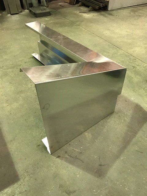 Aluminium Cladding Corner Units