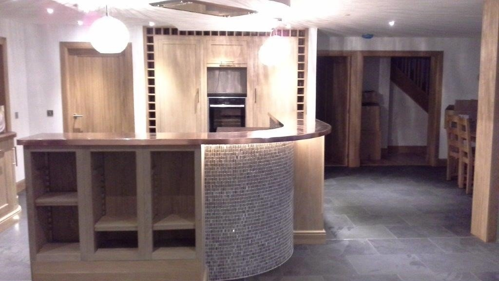 Bespoke Copper Kitchen Worktop