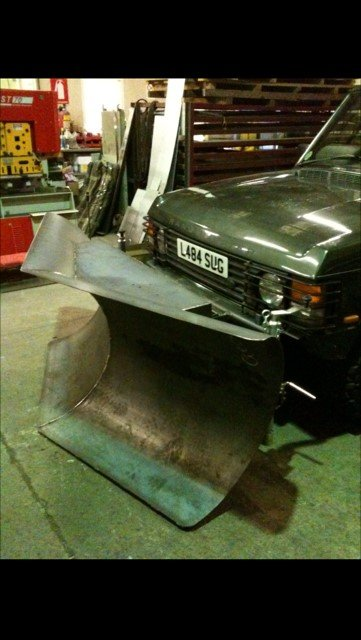 Bespoke Mild Steel Heavy Duty Snow Plough