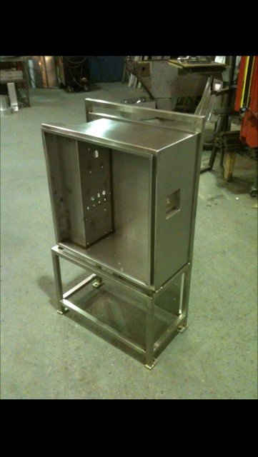Stainless Steel Electrical Component Box-Stand