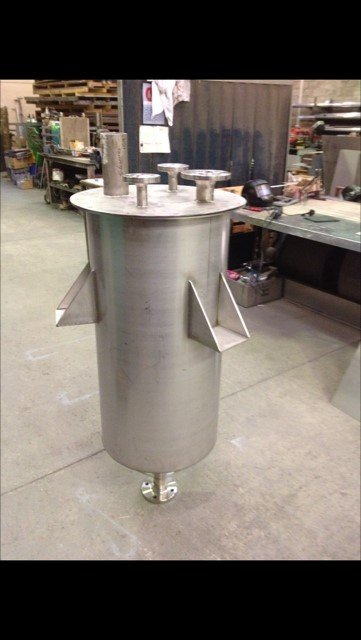Stainless Steel Hopper Unit