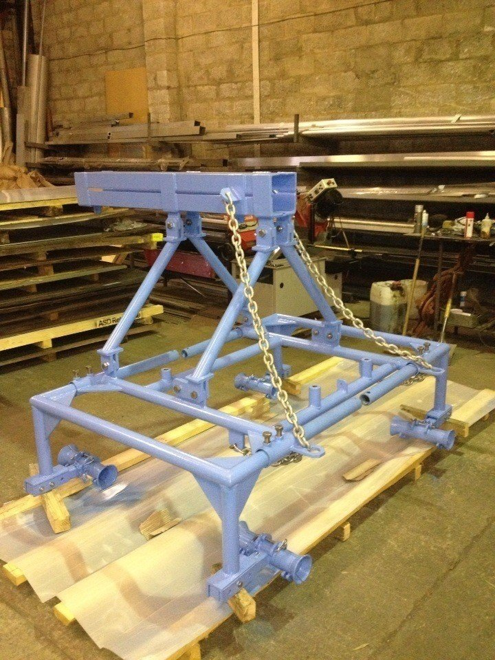 Telescope Assembly Frame for Sub Sea Industry