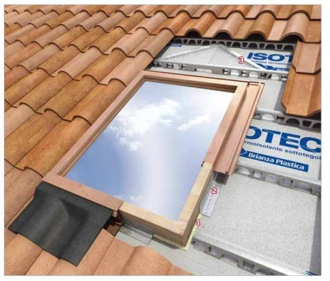 isolamento tetto Isotec