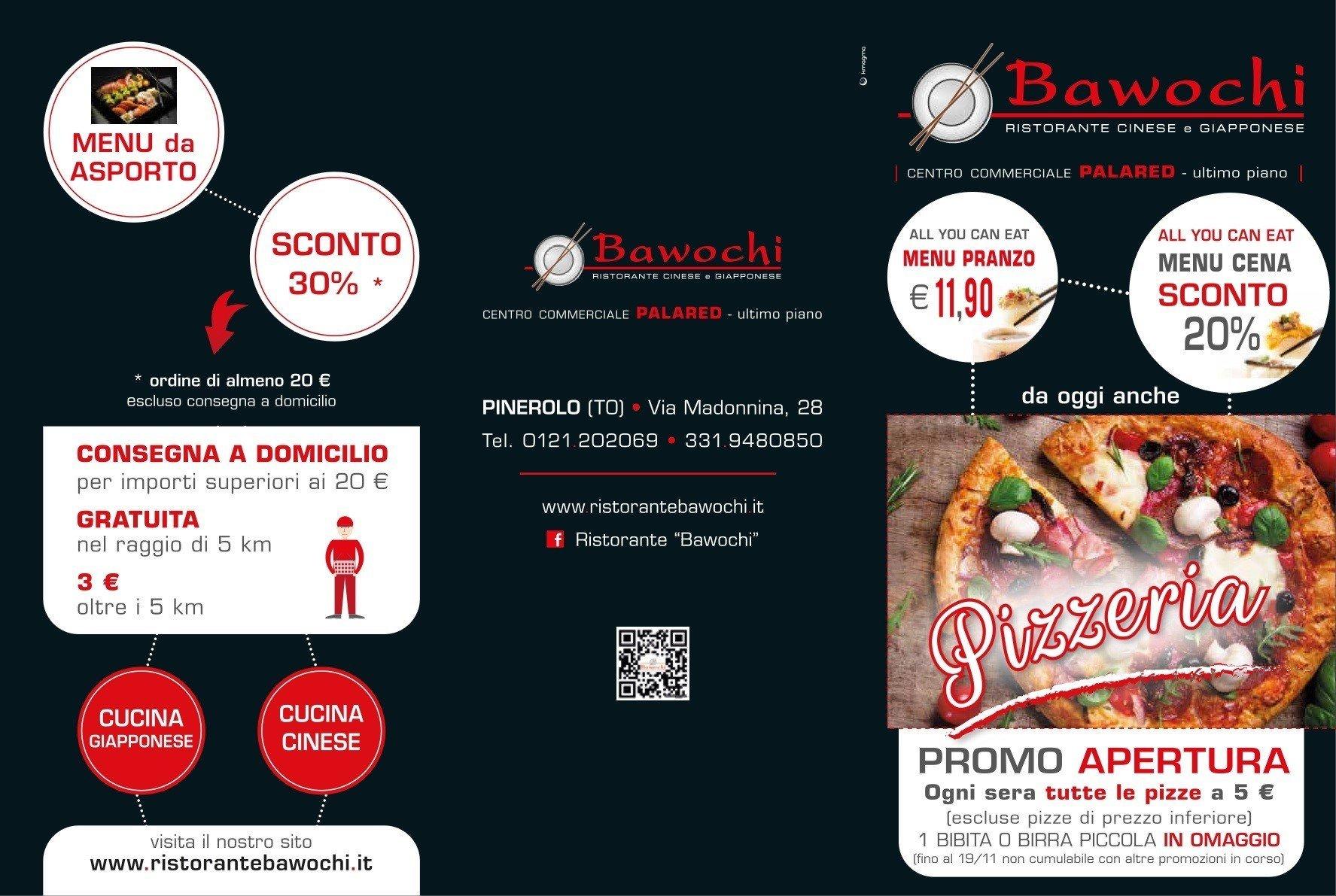 menù pizza bawochi