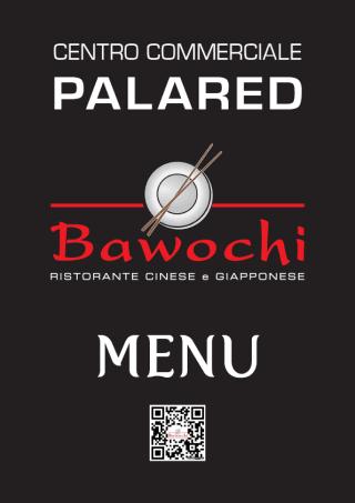 Menu ristorante Bawoki