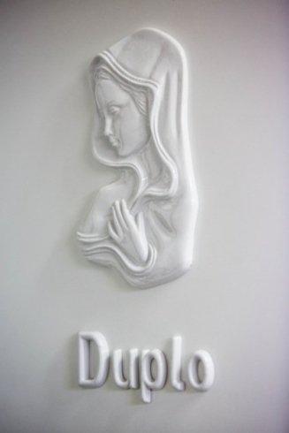 ceramica per lapide con scritta