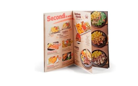 realizzazione menu ristoranti