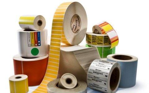 stampa etichette adesive in bobina