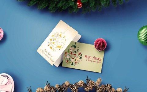 stampa biglietti natalizi