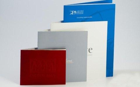 modelli brochure