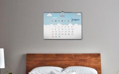 calendario da muro