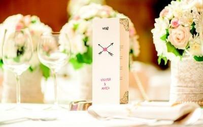 menu matrimonio personalizzato