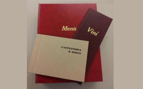 stampa menu ristoranti