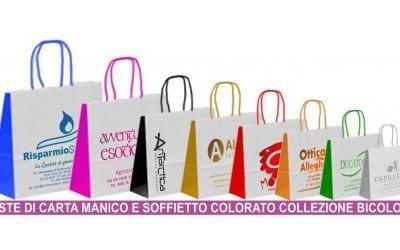 stampa shopper con logo