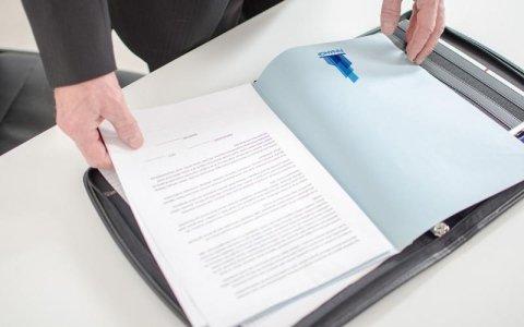 stampa documenti aziendali