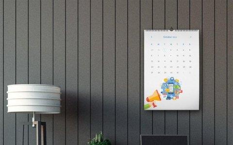 calendario da muro design