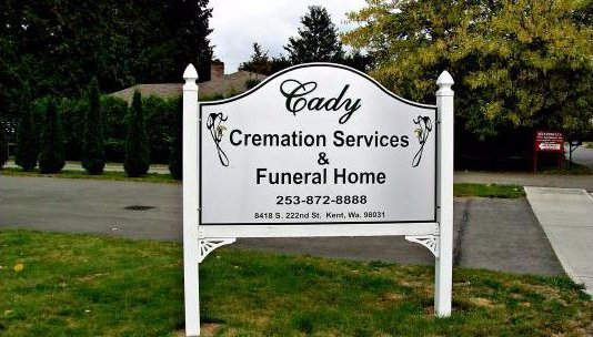 Cady Cremation Services & Funeral Home in Kent, WA